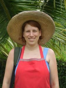 Beim Kochkurs in Chiang Mai in Thailand.