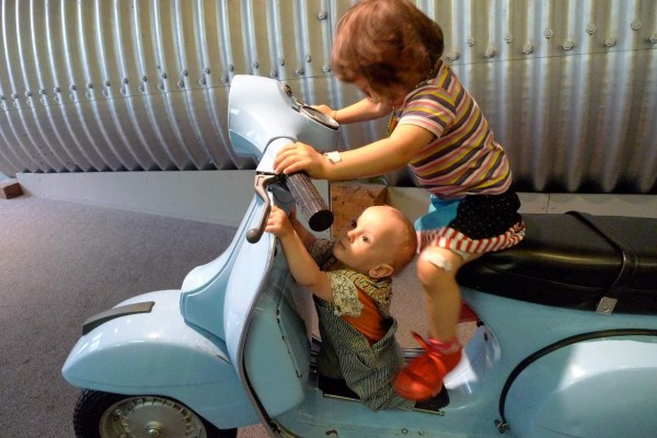 Kinder können im Kindermuseum unzählige Abenteuer erleben. Foto: Edith Wildmann