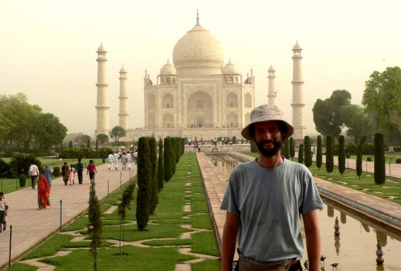Das Taj Mahal gehört zu den wichtigsten Sehenswürdigkeiten Indiens. Foto: O. Zwahlen