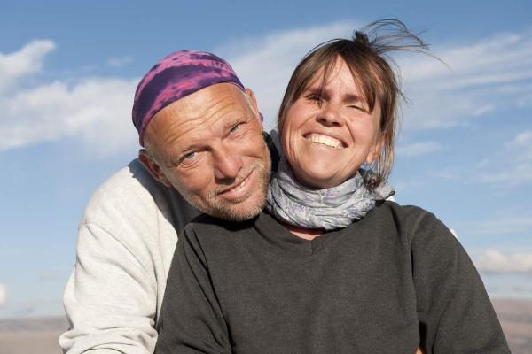 Sabine und Burkhard Koch reisten über ein Jahr lang durch Australien und recherchierten dabei für das Buch über die Aborigines.