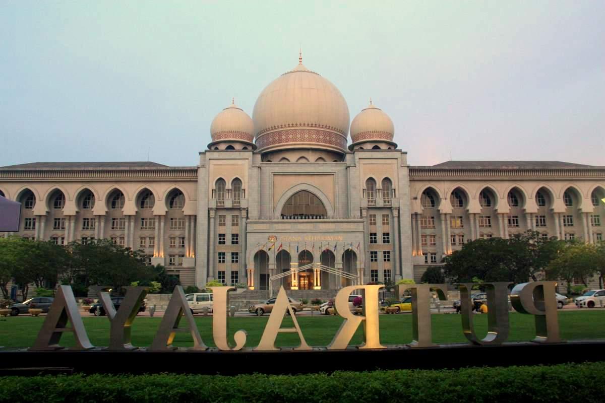 Aus neu mach alt: Der Justizpalast von Putrajaya, dem malaysischen Regierungssitz.