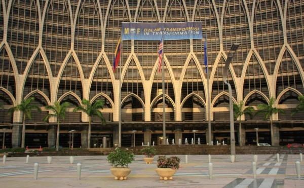 Das Finanzministerium: Traditionelle islamische Elemente in einer modernen Architektur.