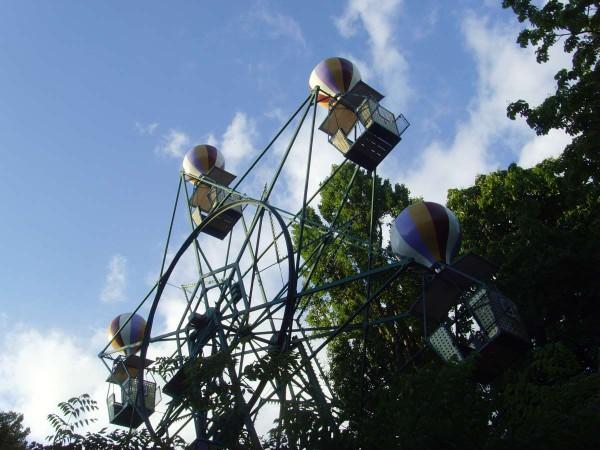 Riesenrad im bekannten Freizeitpark Tivolli. Foto: Maja Benke.