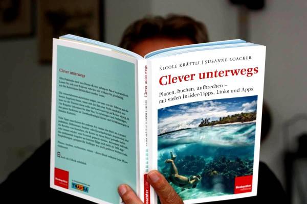 """Das neue Reisenachschlagwerk """"Clever unterwegs"""" will es allen recht machen. Foto: O. Zwahlen"""