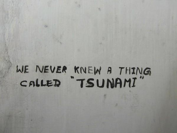 Vor dem 26. Dezember 2004 wussten in Sri Lanka nur wenige, was ein Tsunami ist. Foto: Marion Schwartzkopff