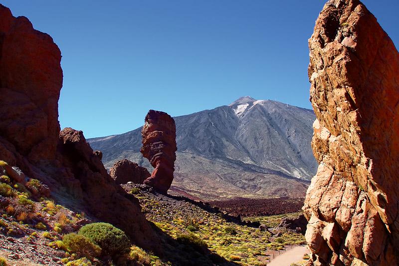 Roques de García: Bizaare Felsentürme unter dem Teide. Foto: Dmitry A. Mottl / Wikimedia