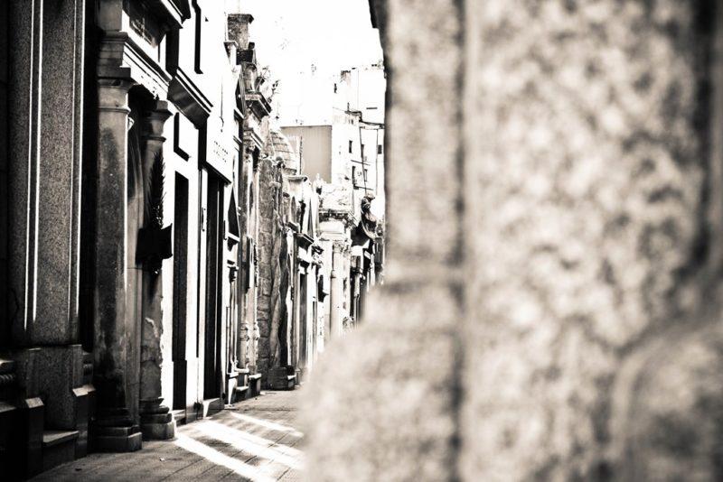 Der Friedhof von Recoleta: Hier ruht auch Evita Perron.