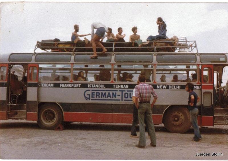Mit dem Hippiebus nach Indien.