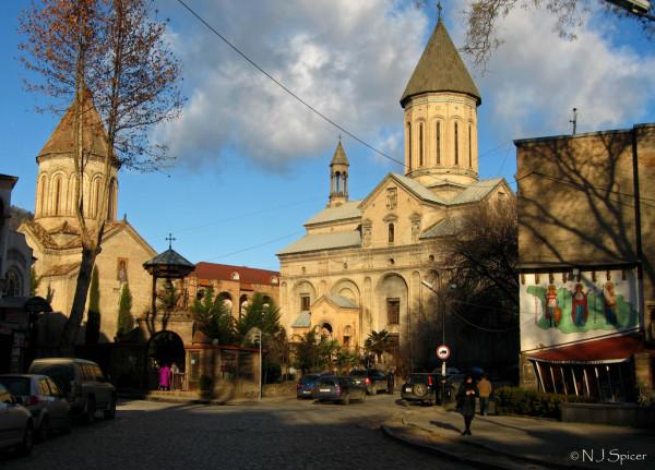Ein Spaziergang durch die Altstadt von Tbilisi (Georgien) klingt nach einem machbaren Vorsatz für 2014. Foto: Nelji /Flick (siehe Hinweise unten)