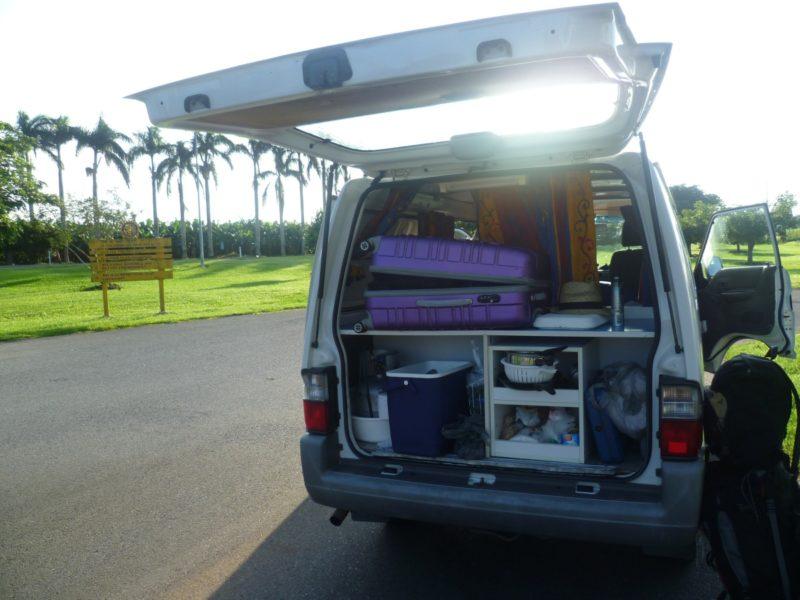 Unterwegs in Australien: Ein Van erfüllt fast alle Wünsche von Carsharern.