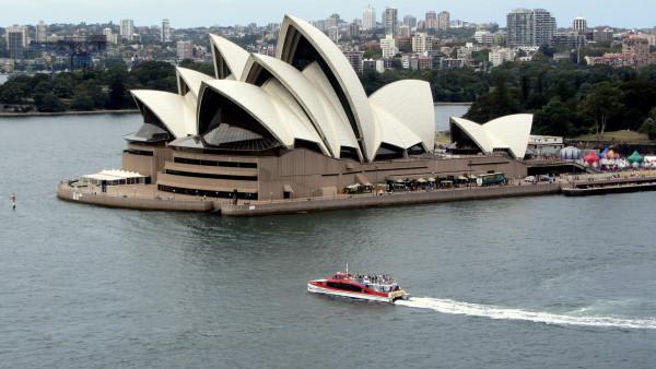 Blick auf das Opernhaus von Sydney. Fotos: Christine Pierk