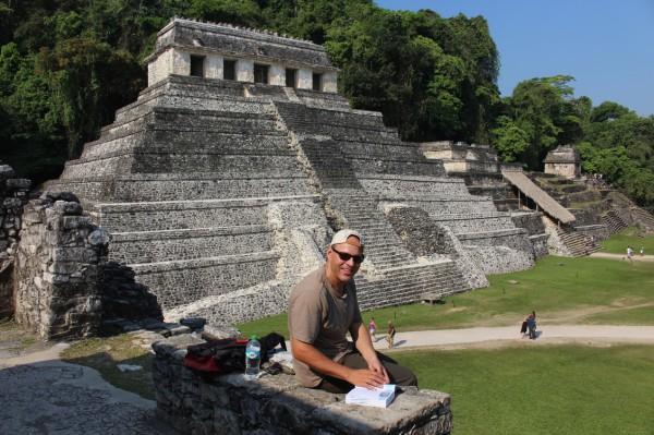 Besuch der mysteriösen Maya-Ruinen von Palenque.