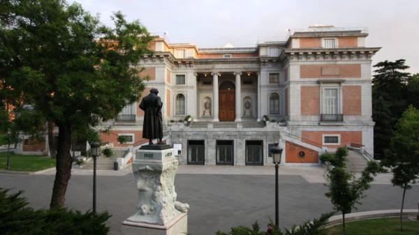 Eines der bekanntesten Kunstmuseen der Welt: Das Prado.