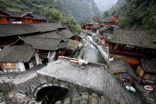 Dehang in Zentralchina: Für mich eines der schönsten Dörfer der Welt. Foto: Oliver Zwahlen