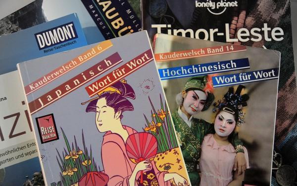 Der ideale Begleiter für die Reise: Mit den Sprachführern der Kauderwelsch-Reihe kannst du dich schnell in rund 100 Sprachen und Dialekte einarbeiten.