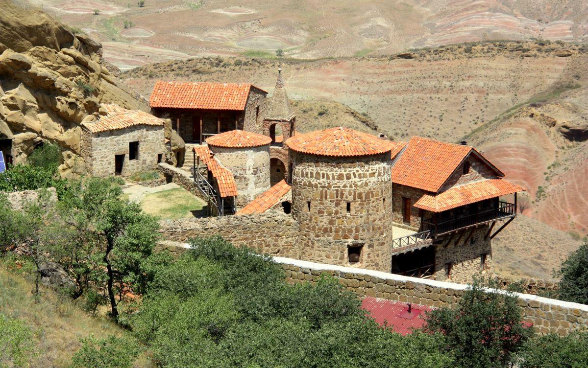 Blick aufs Kloster