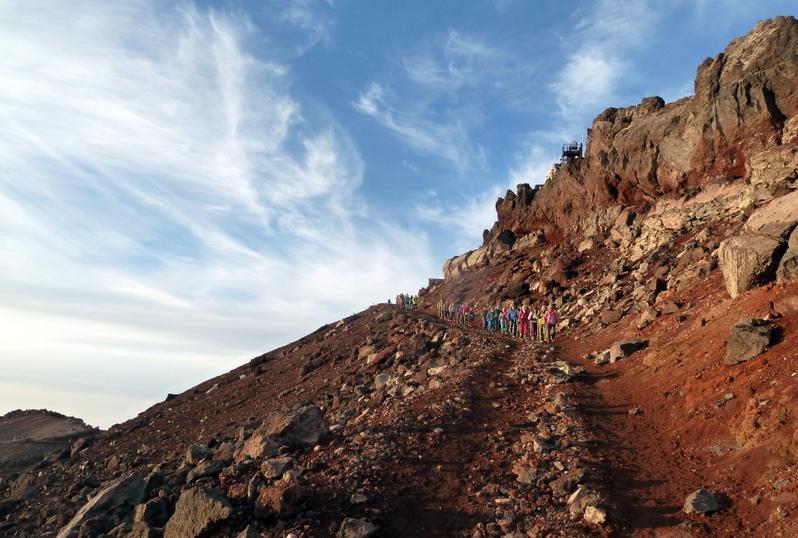 Fuji Besteigung
