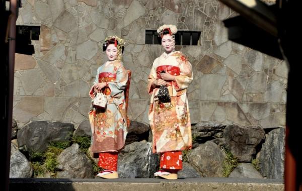 Kleider von Geishas