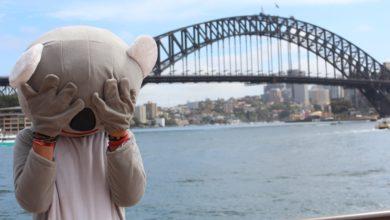 """Bild von Australien: """"Wir verdienten unser Geld als Maskottchen"""""""