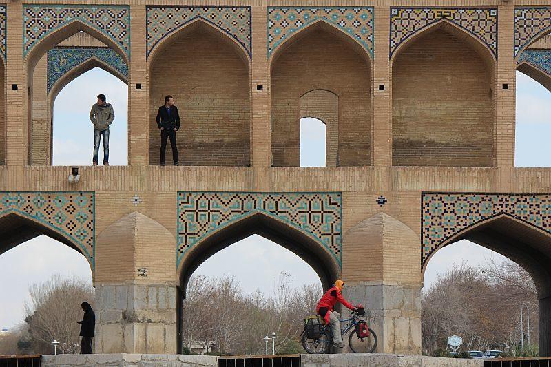 Sehenswürdigkeiten verlieren an Bedeutung: Brücke im iranischen Esfahan.
