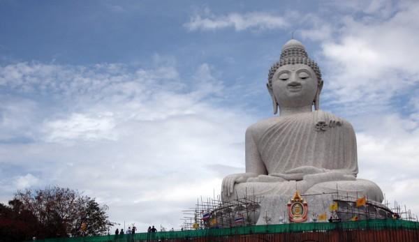 Abseits der Touristenmassen: Der Happy Buddha.