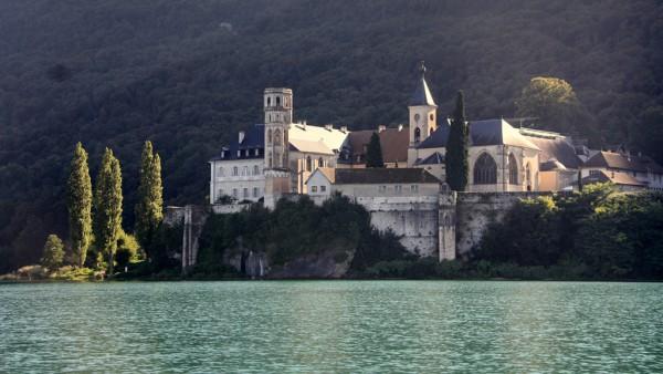 Die Abtei von Hautcombe: Hier liessen sich früher die Herrscher von Savoyen begraben.
