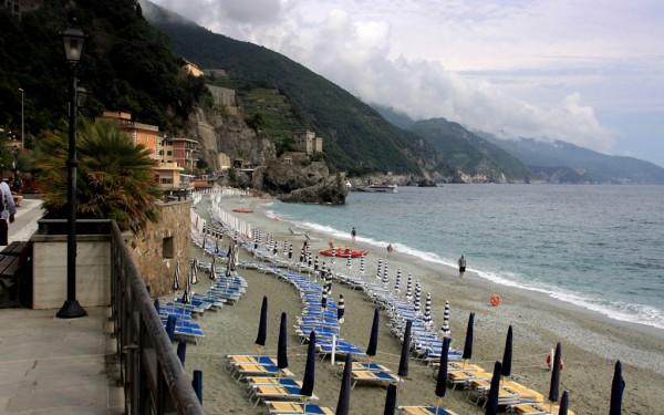 Monterosso al Mare: Das grösste der fünf Dörfer war für mich der am wenigsten attraktive Ort der Cinque Terre.