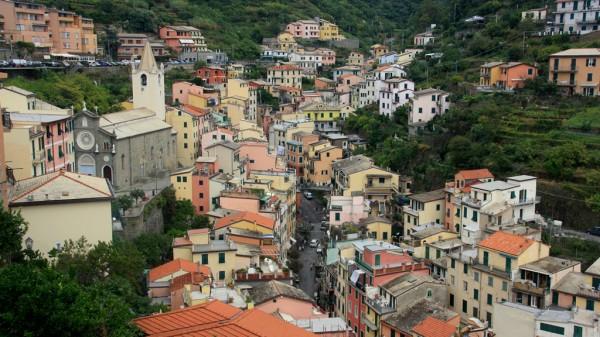 Riomaggiore: Eine hübsches Dorf, das ich aber kaum von Manarola unterscheiden kann.