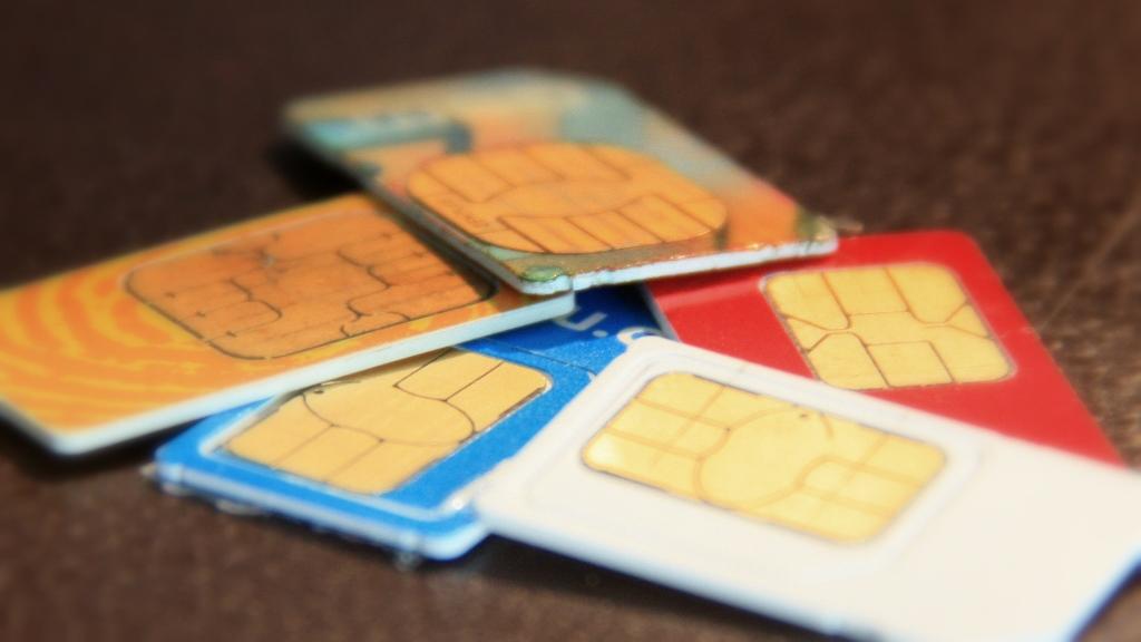 Das Problem vieler Reisenden: Mehr Sim-Karten als Handys. Fotos: O Zwahlen
