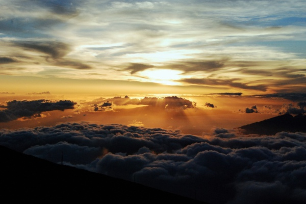 Haleakala: Bekannt für seine schönen Sonnenaufgänge. Foto: The Good Reverend Flash / Flickr