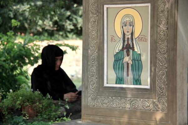 Religiöse Malerei: Georgien und Armenien sind die ältesten christlichen Länder der Welt. Foto: OZ.