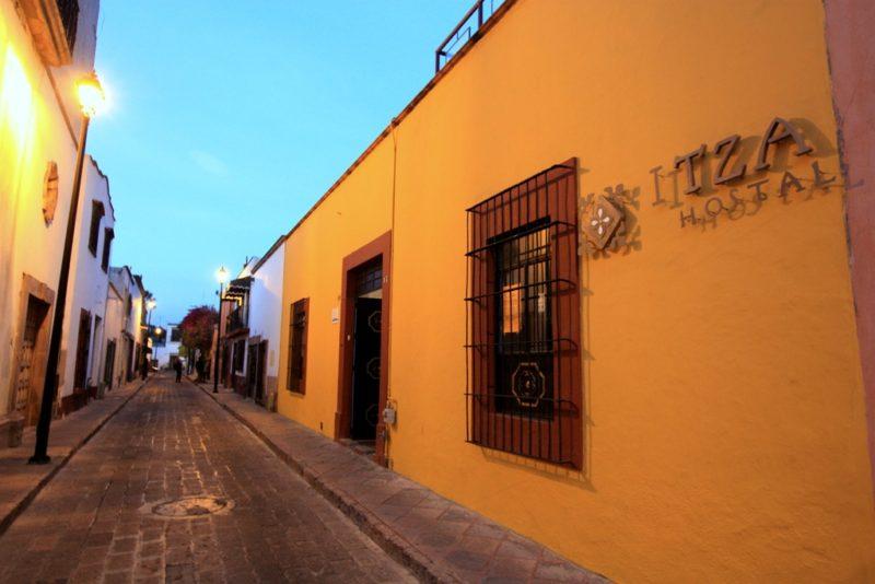 Das Itza Hostel: Eine der charmantesten Unterkünfte auf meiner Mexikoreise.