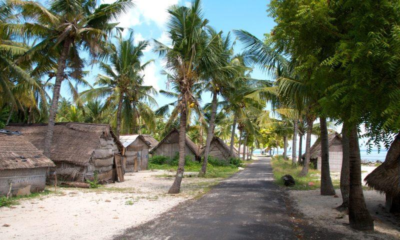 Abgeschiedenheit: Hütten am Strand im Norden von Nusa Lembongan. Foto: Bart Speelman / Flickr