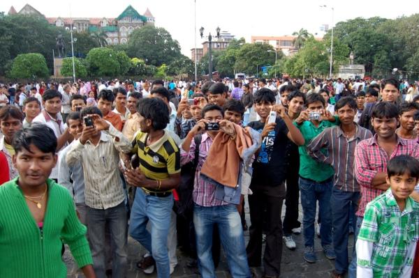 Wie ein Promi: Wer Indien bereist, muss sich darauf gefasst machen, regelmässig fotografiert zu werden.