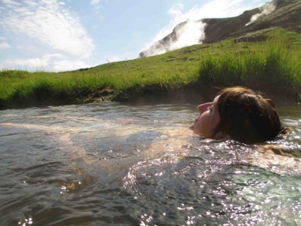 Eines der Highlights von Island: Baden im heissen Fluss von Reykjadalur. Fotos. S. Bannholzer