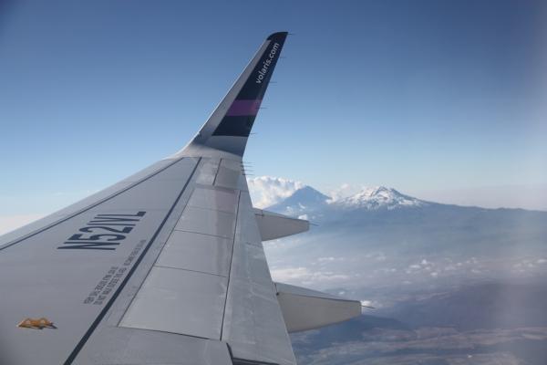 Günstige Alternative: Flüge sind in Mexiko auf langen Strecken häufig günstiger als Busse.