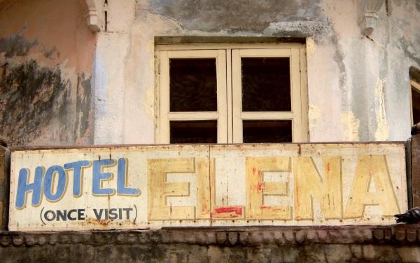 Günstig, aber nicht für jeden Geschmack: Hotel in Varanasi. Foto: O. Zwahlen