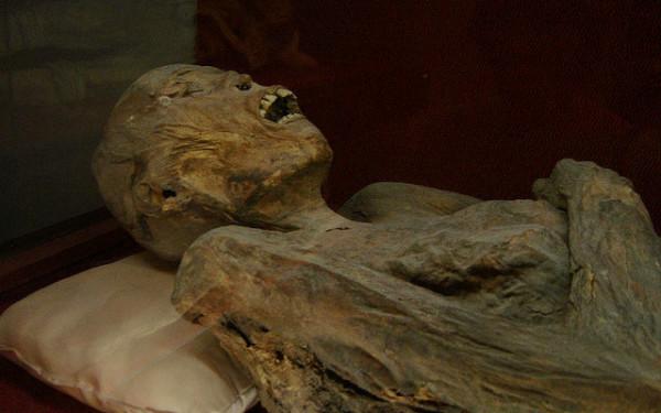 Nichts für Leute mit schwachen Nerven: Mumie im Museum in Guanajuato. Foto: Dan Nevill / Flickr