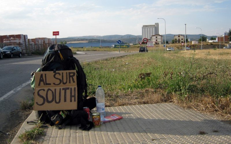Richtung Süden: Als Anhalter mit dem Rucksack durch Spanien.