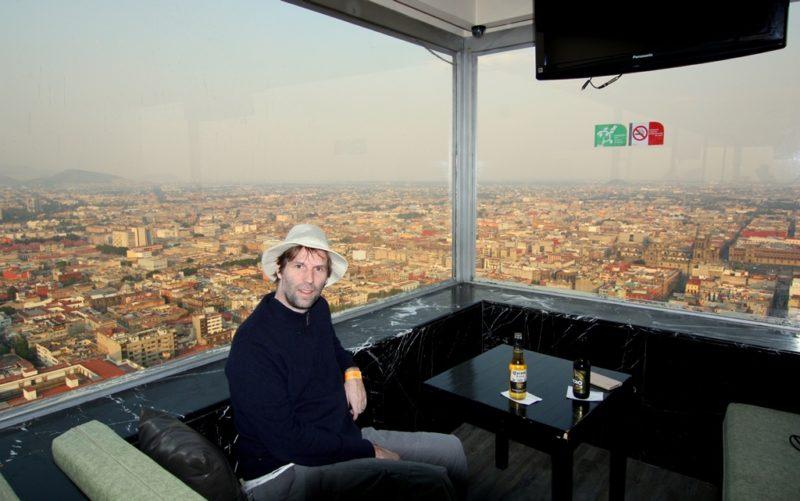 Gute Aussicht: Auf rund 150 Metern Höhe in der Bar des Torre Latinoamericano.
