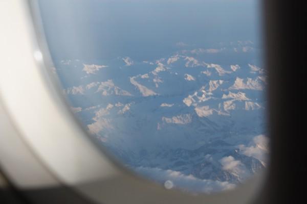 Ohne störende Flügel: Sogar die Aussicht auf die Karpaten ist in der Business Class (leicht) besser. Fotos: O. Zwahlen