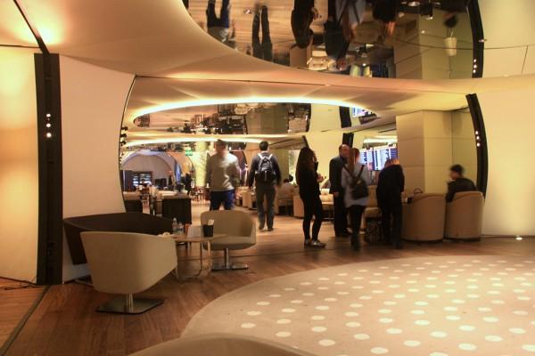Ein guter Ort, um die Wartezeit zu überbrücken: Die Business Class Lounge in Istanbul.