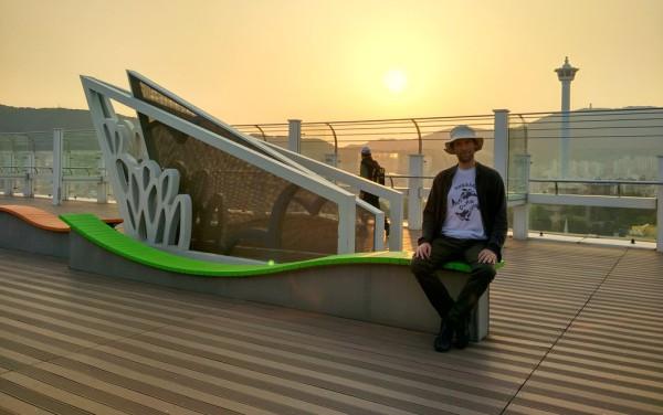 Eine weitere Aussichtsplattform: Das Dach der Lotte Shopping Mall.