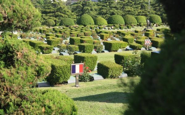 UN-Friendhof: Mehr als 40.000 Soldaten ruhen hier, die im Koreakrieg gefallen sind.