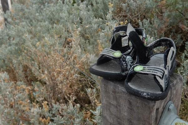Sind luftig und geben dem Fuss halt: Sandalen. Foto: Michael Coghlan / Flickr
