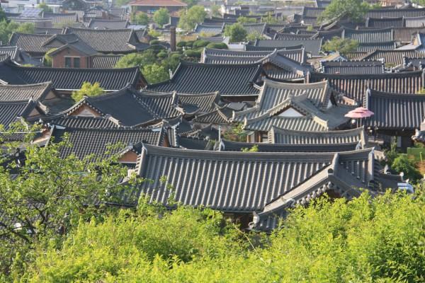 Weniger bekannte Orte wie Jeonju findest du ohne Vorwissen und Reiseführer vermutlich nicht.