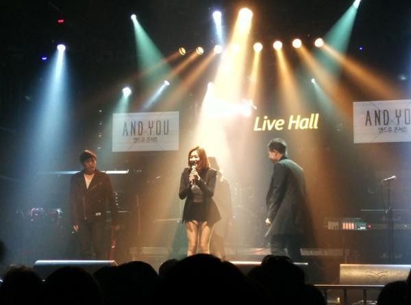 Korea hat eine vielseitige Musikszene. Im Bild die Sängerin Vivan Lee.