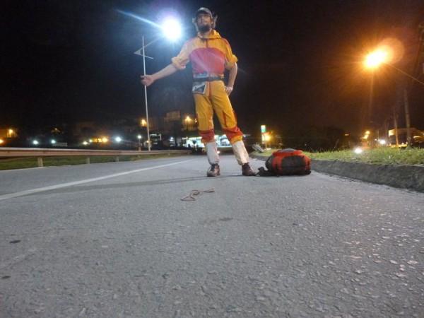 Nachttrampen Brasilien
