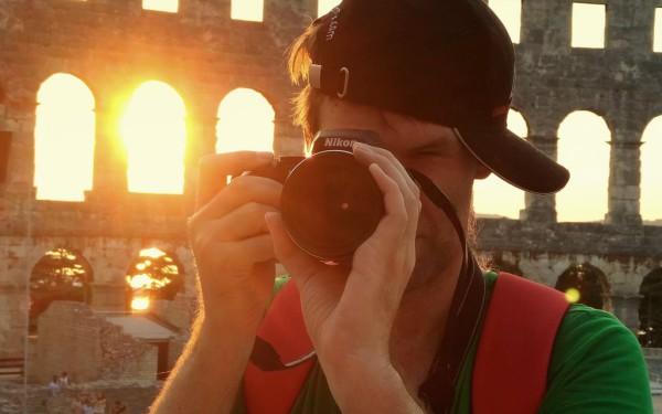 Praxistest mit der neuen Nikon Coolpx 900 im Amphitheater von Pula.