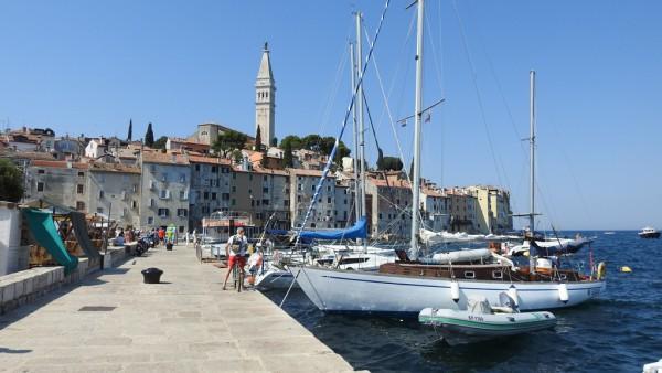 Das Juwel von Istrien: Die Hafenstadt Rovinj.